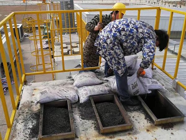 柱状活性炭geng换